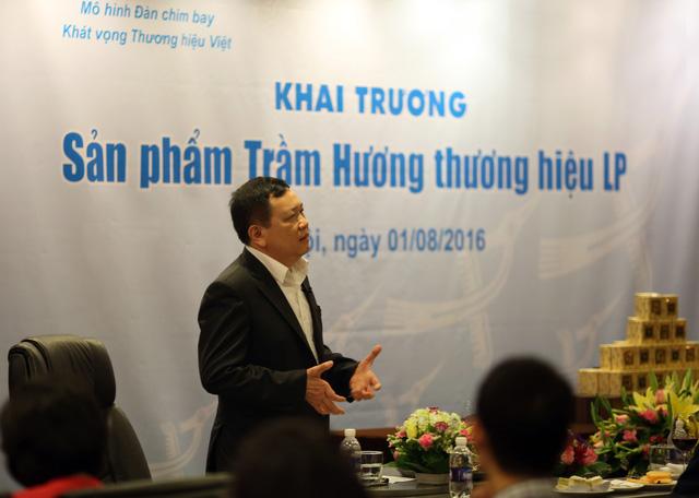 Học viện Doanh nhân LP Việt Nam ra mắt sản phẩm Trầm hương